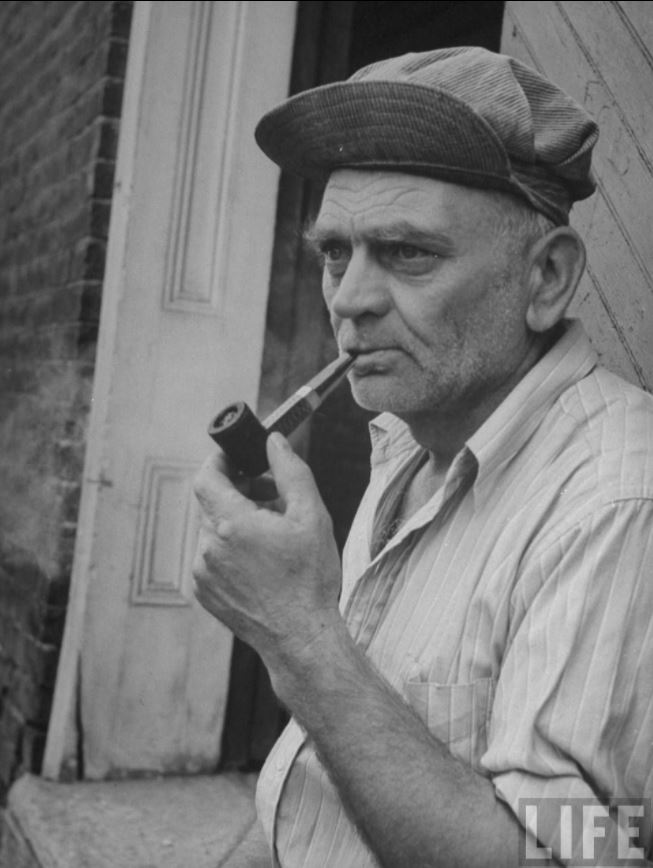 old man with pipe LIFE.JPG